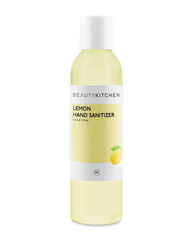 Lemon Hand Sanitizer Beauty Kitchen